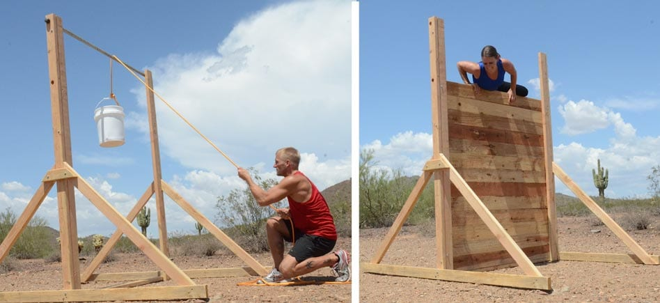Make Your Own Wall For Training Mud Run Ocr Obstacle