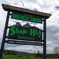 SIGN - SHALE HILL