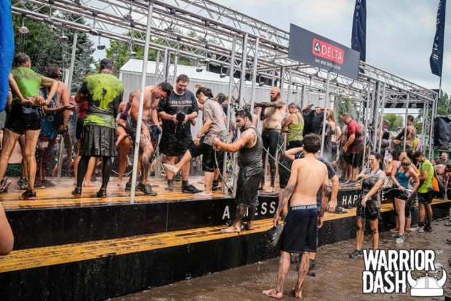Delta Faucet's HappiMess™ campaign partners with Warrior Dash®, the world's largest obstacle race