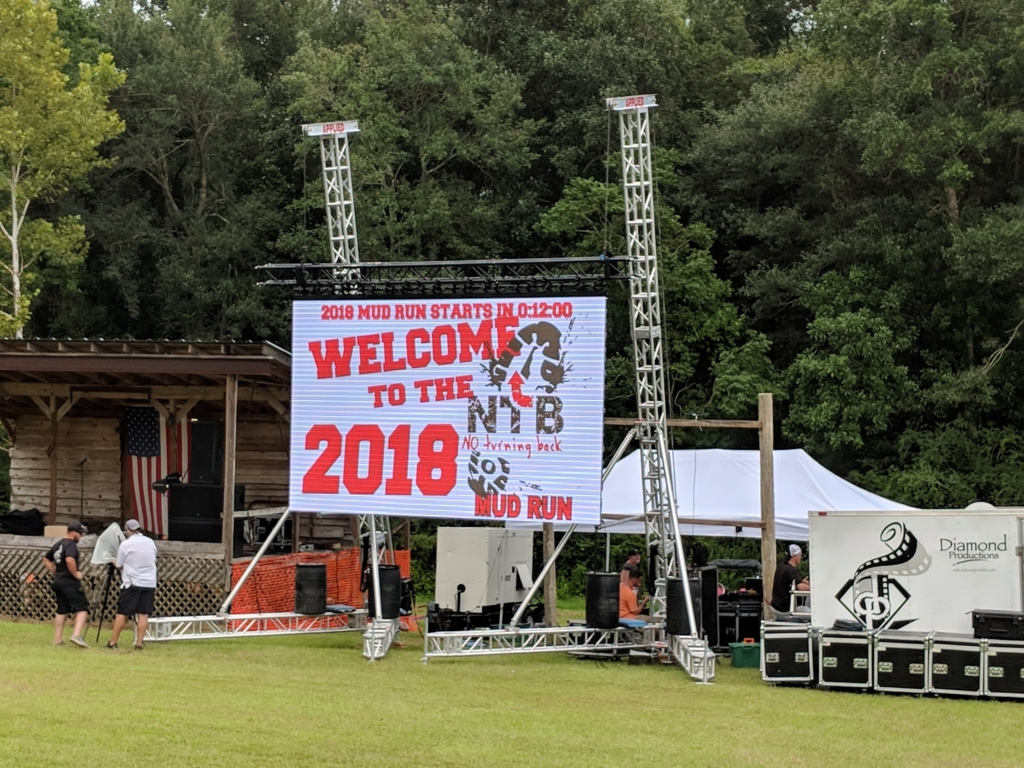 Backyard Scoreboards race review: no turning back mud run | mud run, ocr, obstacle course
