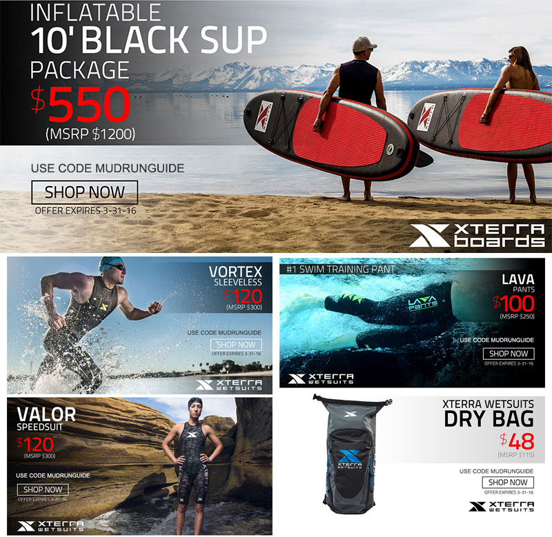 Xterra Paddle Boards >> Xterra Wetsuit Sup Deals Mud Run Ocr Obstacle Course Race